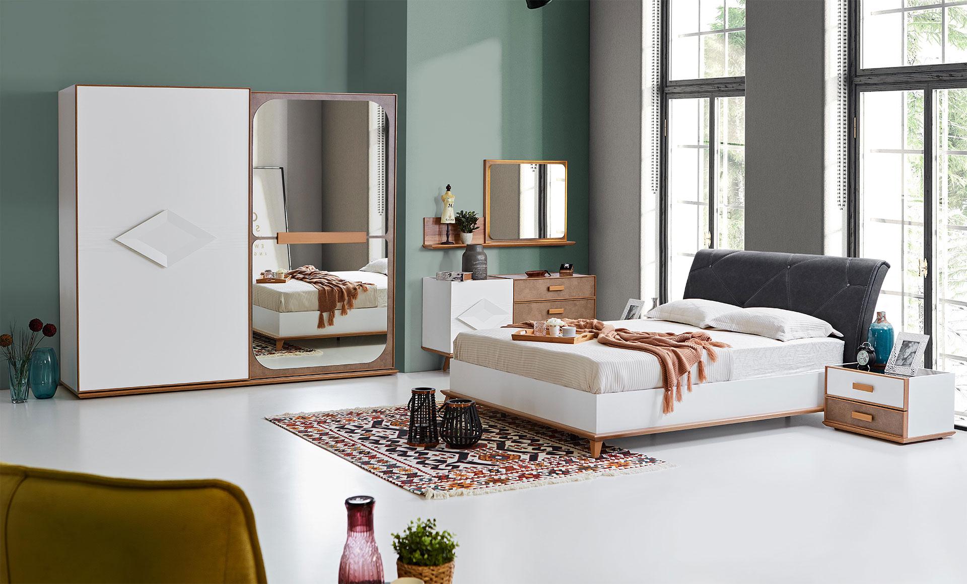 Aura yatak odas tak m hevin mobilya for Mobilya caserta