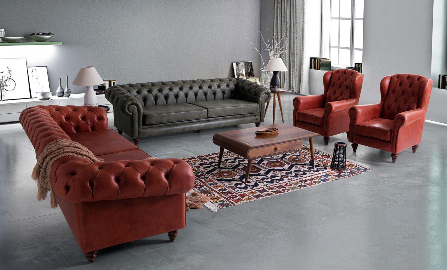 Chester Sofa Set Hevin Home Design