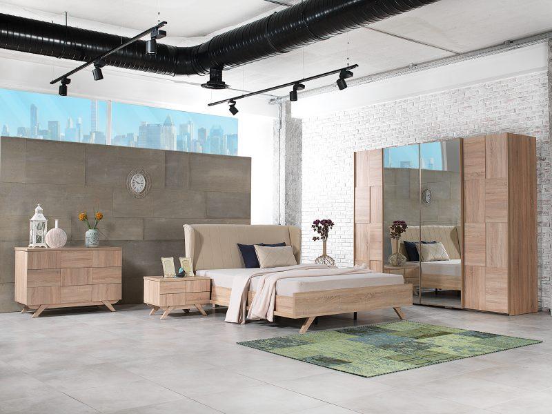 Yatak odalari hevin mobilya for Mobilya caserta