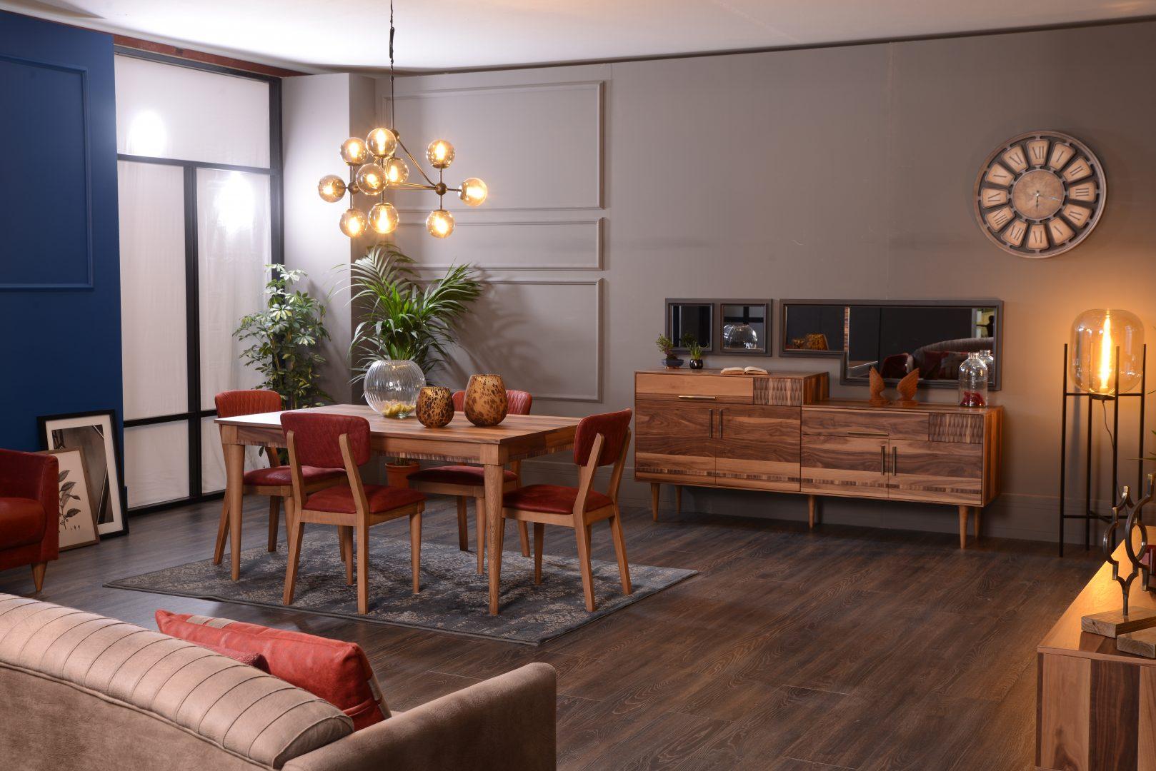 Lucca yemek odas tak m hevin mobilya for Mobilya caserta