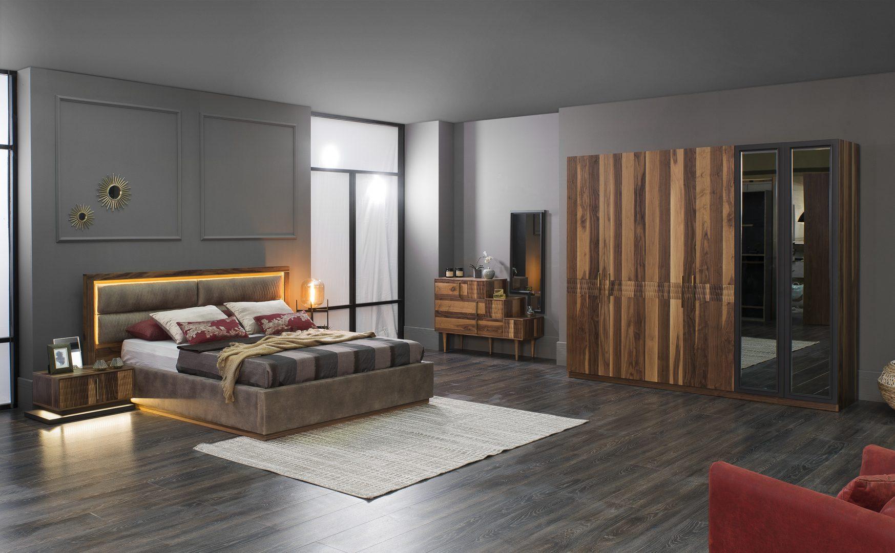 Lucca yatak odas tak m hevin mobilya for Mobilya caserta