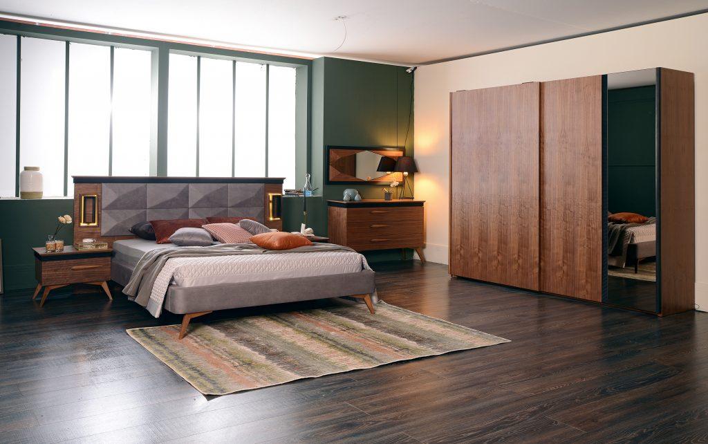 Vigo exclusive yatak odas tak m hevin mobilya for Mobilya caserta
