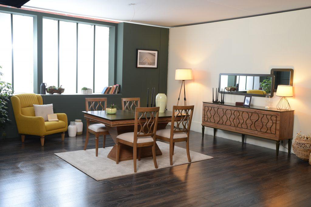 Enna yemek odas tak m hevin mobilya for Mobilya caserta