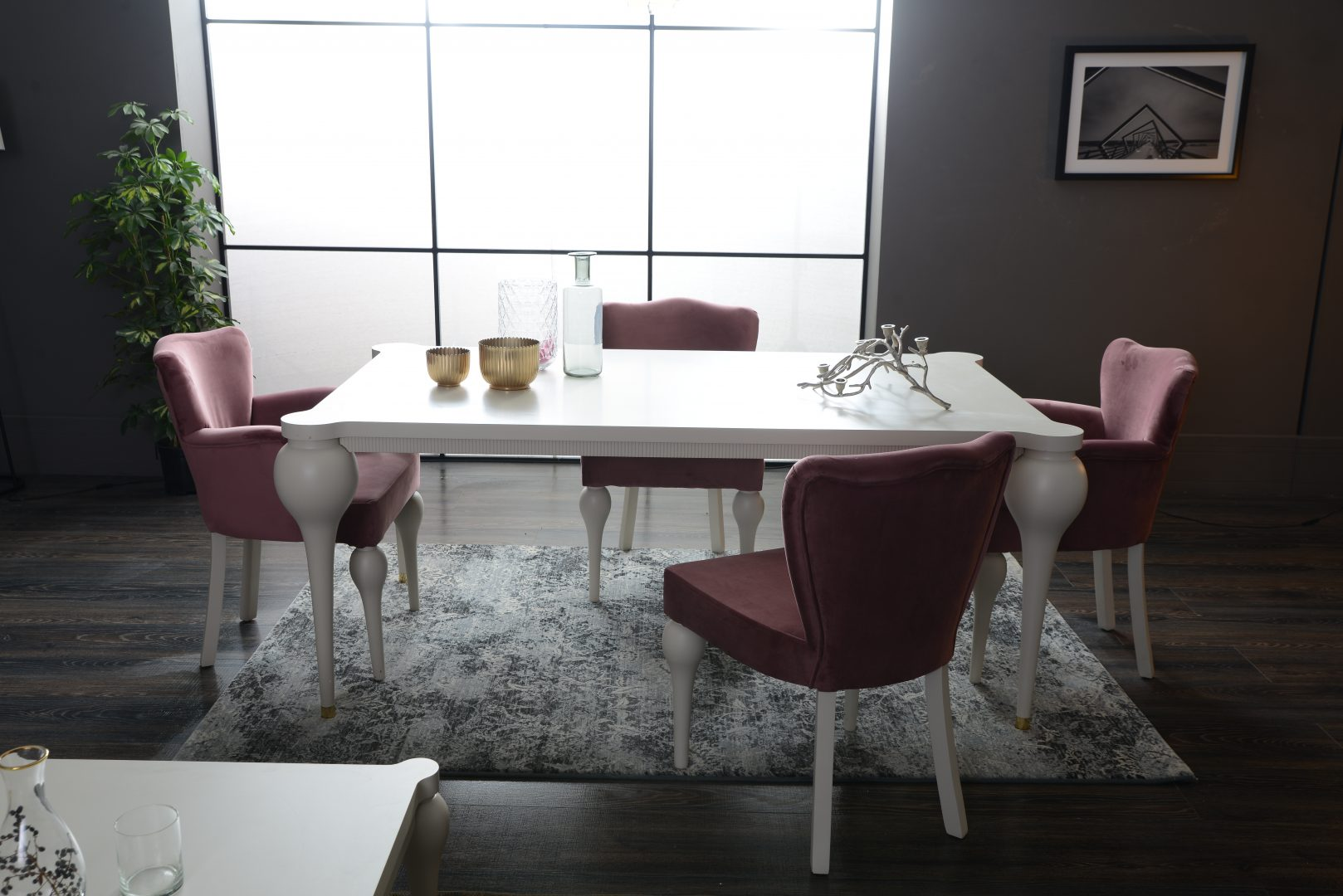Valente yemek odas tak m hevin mobilya for Mobilya caserta