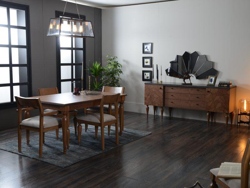 Yemek odalari hevin mobilya for Mobilya caserta