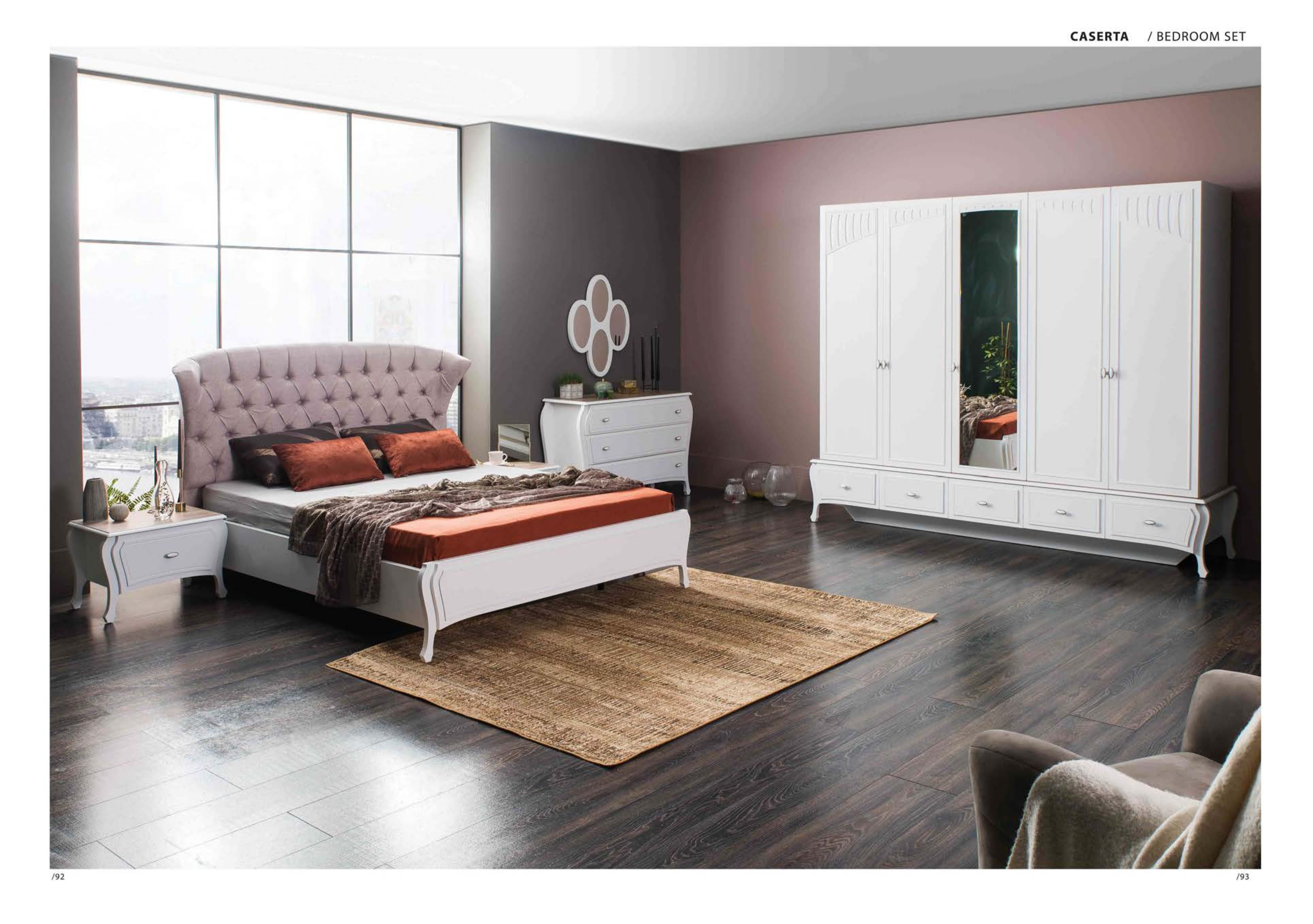 Caserta yatak odas tak m hevin mobilya for Mobilya caserta
